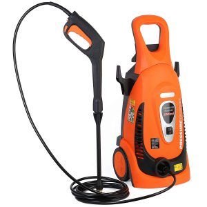Ivation Electric Pressure Washer 2200 Psi 1.8 Gpm With Power Hose Nozzle Gun And Turbo Wand