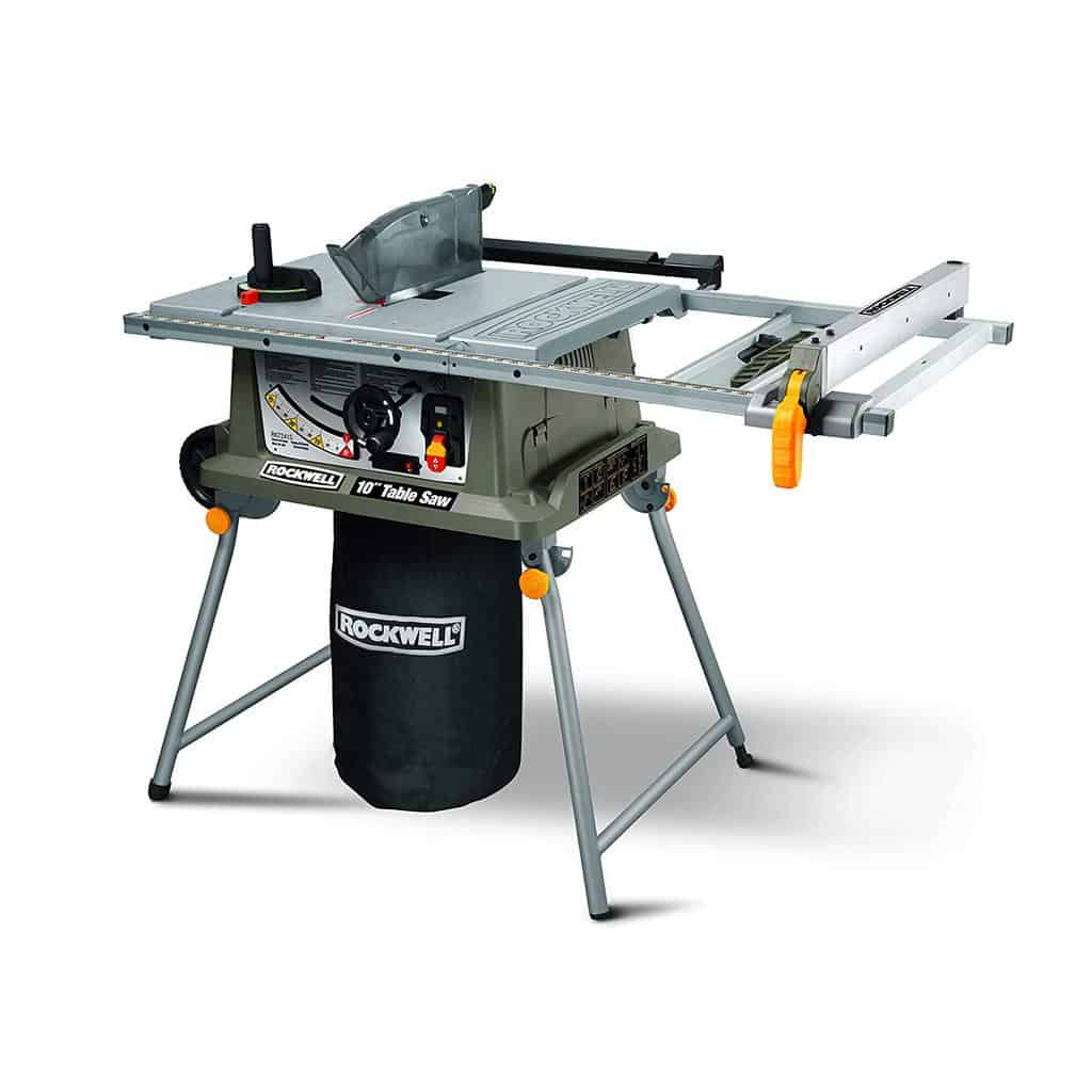 Astonishing Rockwell Rk7241S Table Saw With Laser Review Crafted Garage Interior Design Ideas Ghosoteloinfo