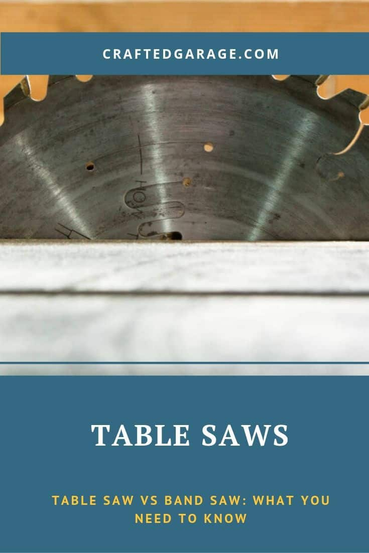 Table Saw vs Band Saw: What You Need to Know