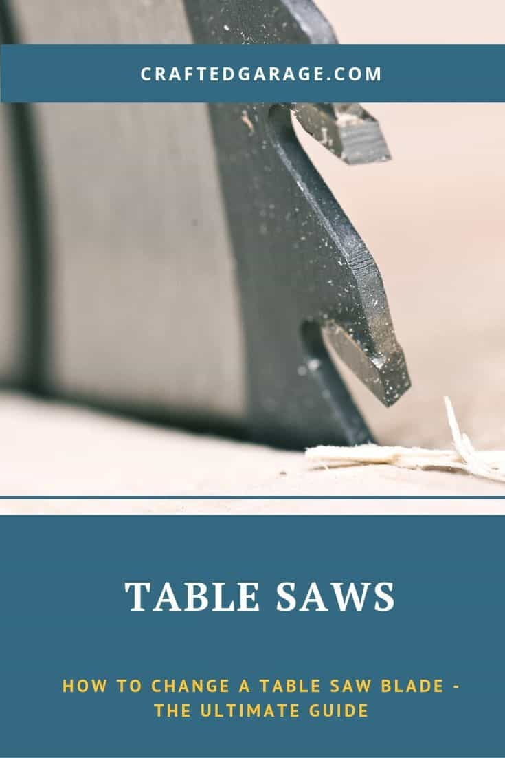 How to change a table saw blade – The ultimate guide