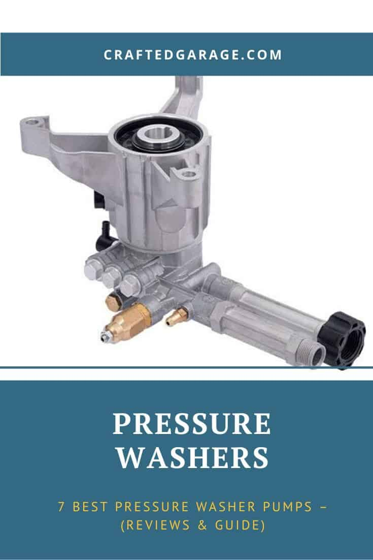 7 Best Pressure Washer Pumps – (Reviews & Guide)