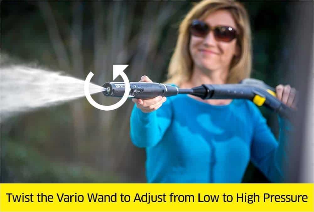 Karcher K3 Follow-Me Vario spray wand
