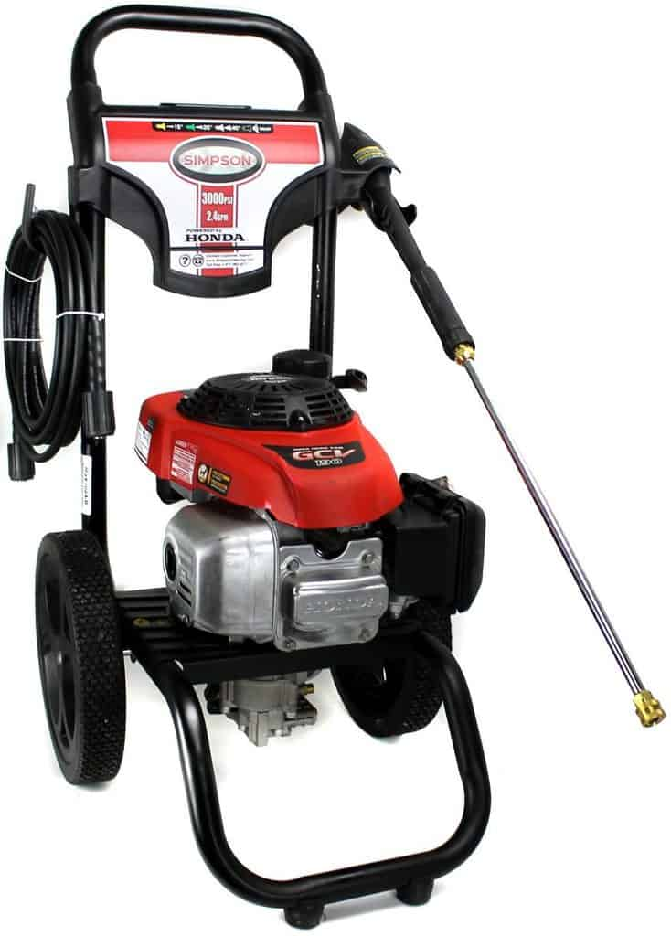 Simpson MSV3024 Simpson 3000 PSI pressure washer review