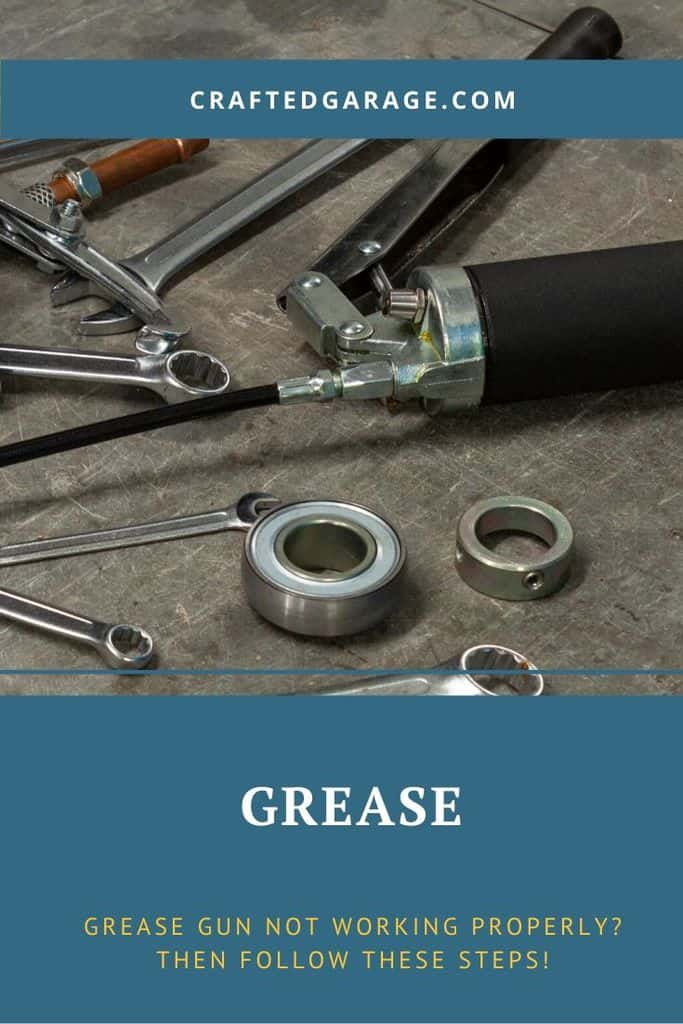 Grease Gun not working properly? Then follow these steps!
