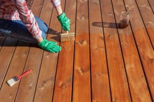 How To Pressure Wash A Deck Before Staining