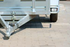 Pressure washer trailer setup